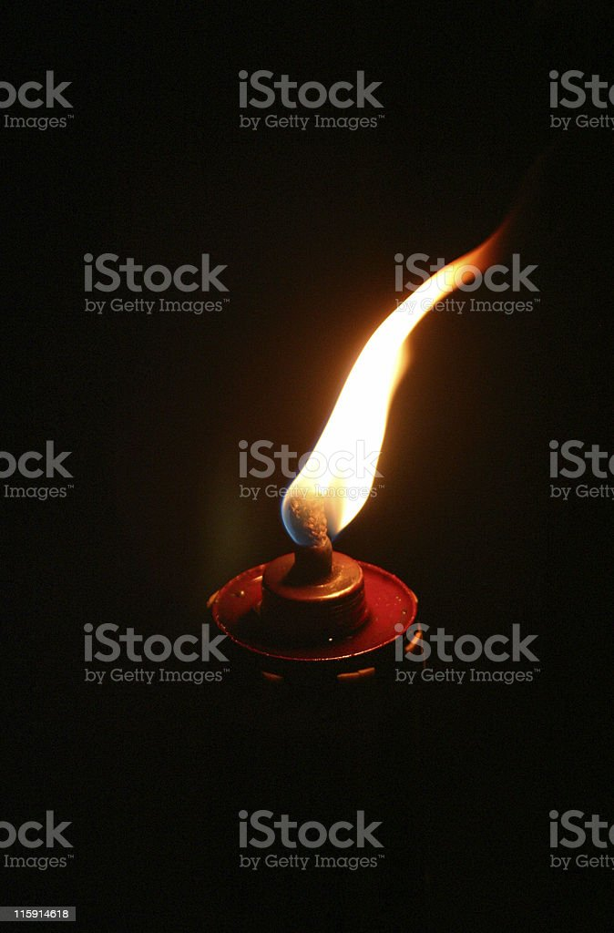 Torch stock photo