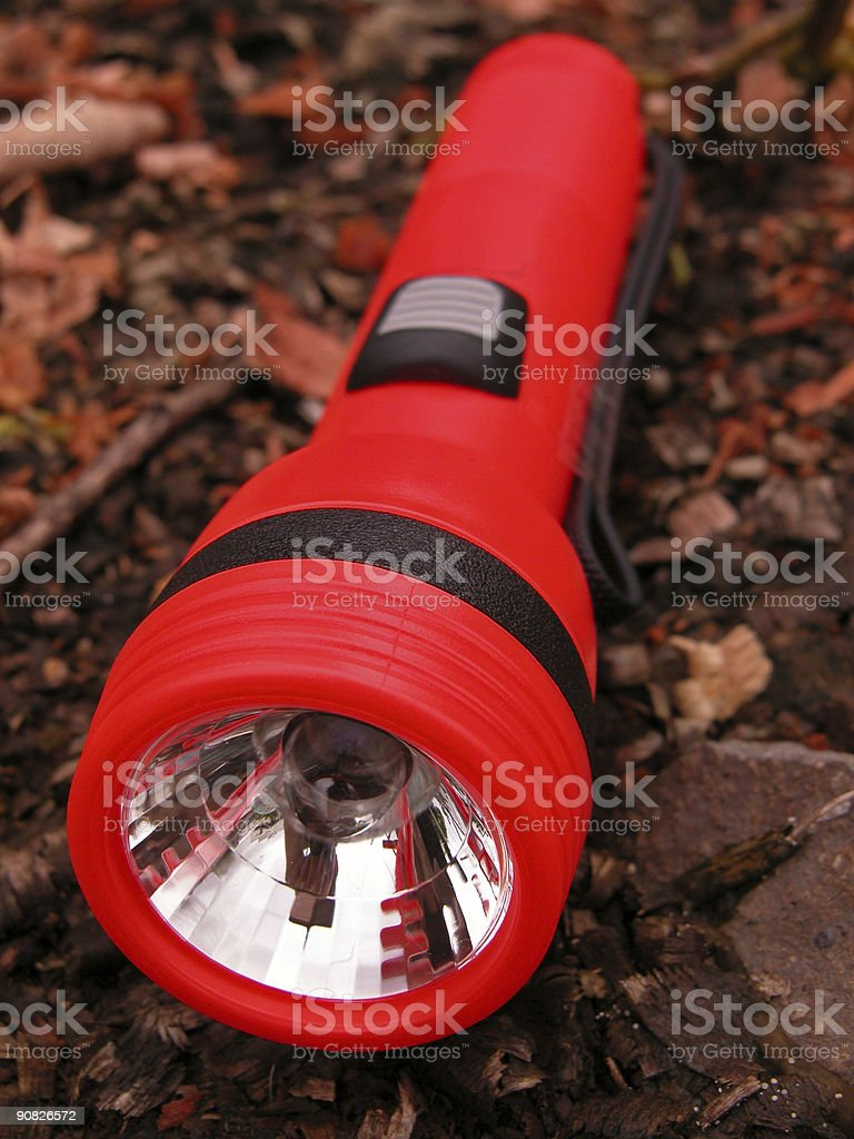 Torchlight - Outdoor Survival Tool royalty-free stock photo