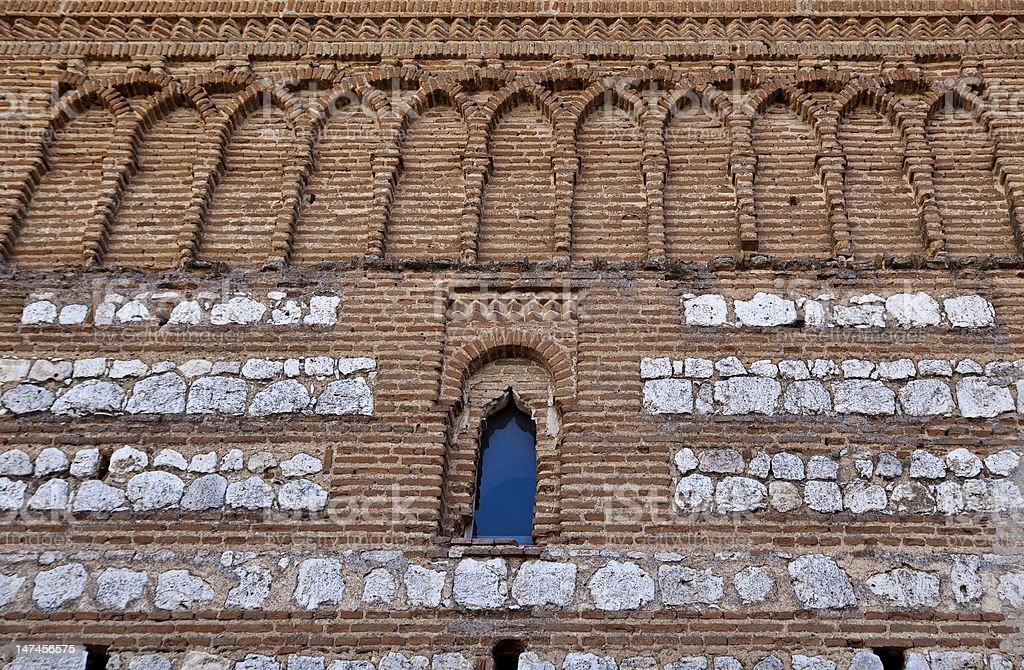 Tordesillas, Royal Convent of Santa Clara royalty-free stock photo
