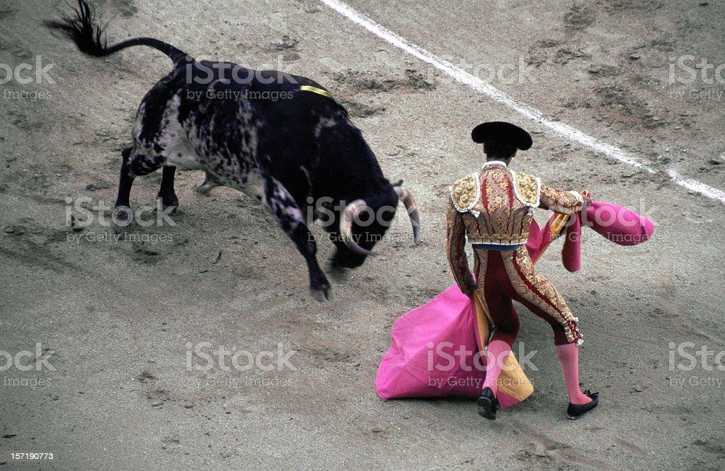 Toreador - Bullfight stock photo