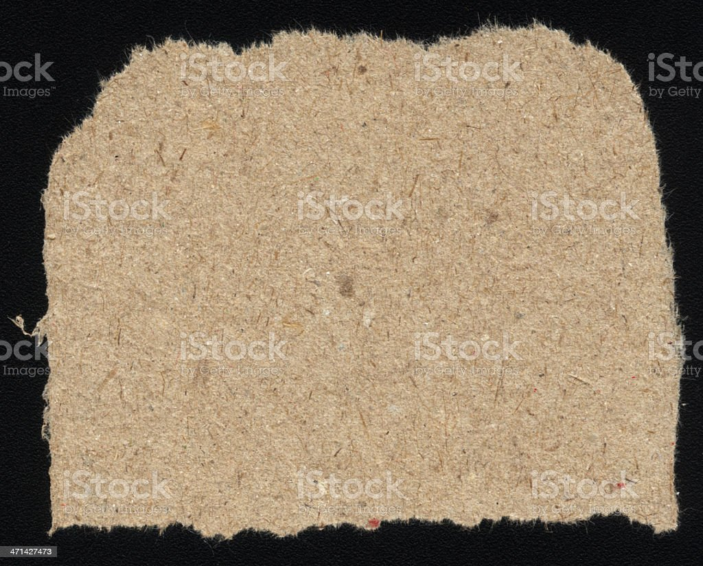 torn brown paper royalty-free stock photo