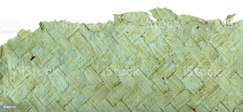 Torn Handmade Paper (Hi-res) royalty-free stock photo