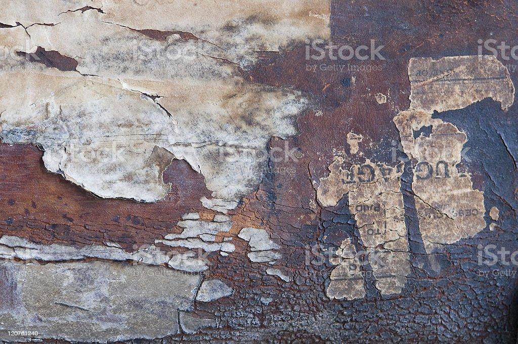 Torn paper abstract background royalty-free stock photo