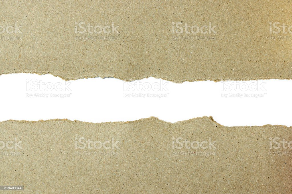 Torn paper background stock photo