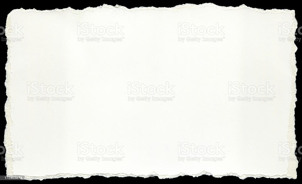 Torn paper Cardboard royalty-free stock photo
