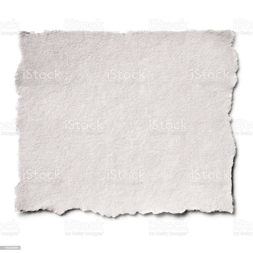 Torn Paper Isolated stock photo