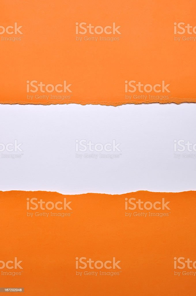 Torn Paper With Space royalty-free stock photo