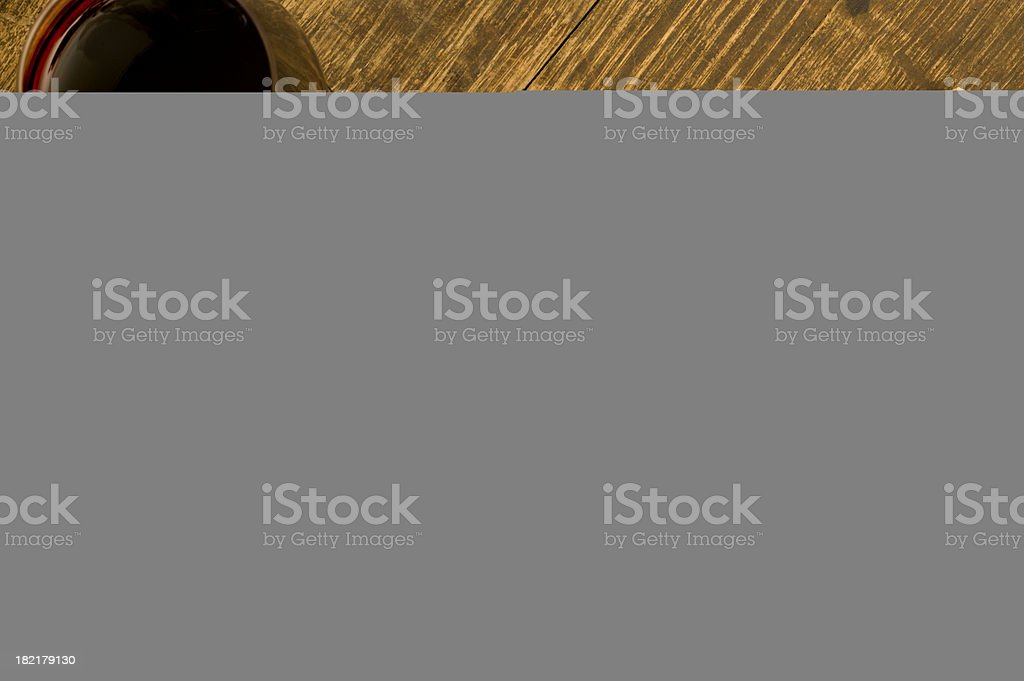 torn photo frame royalty-free stock photo