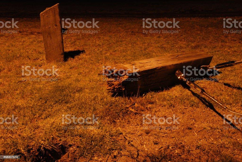 Torn stock photo