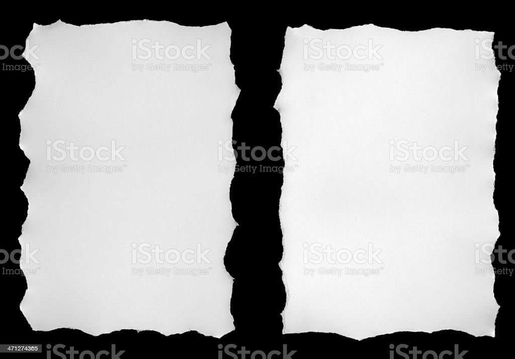 Torn Piece royalty-free stock photo