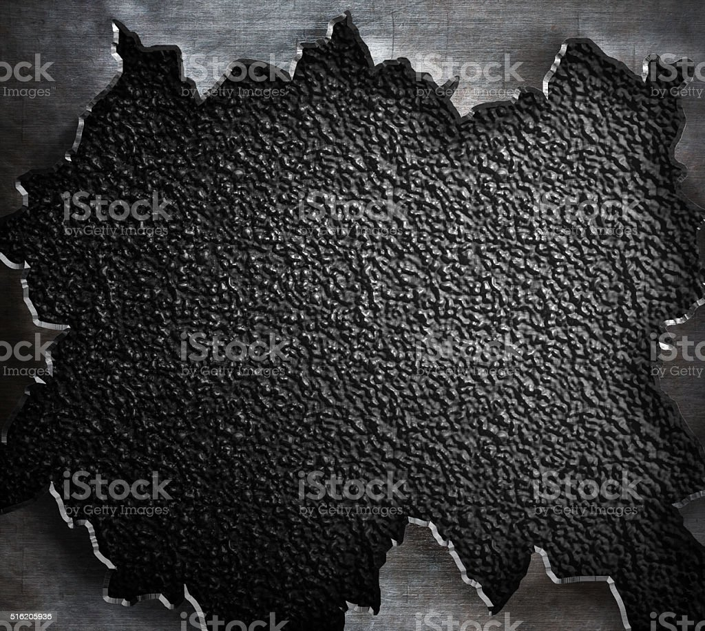 torn rough metal steam punk background stock photo