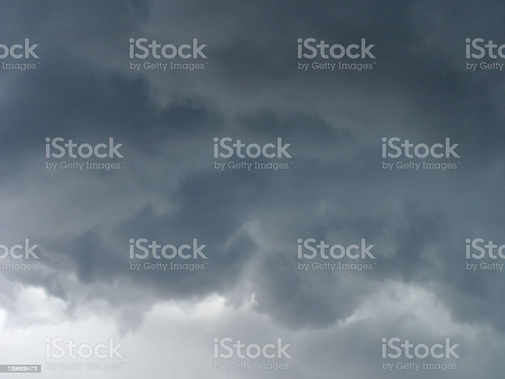 Tornado Clouds royalty-free stock photo