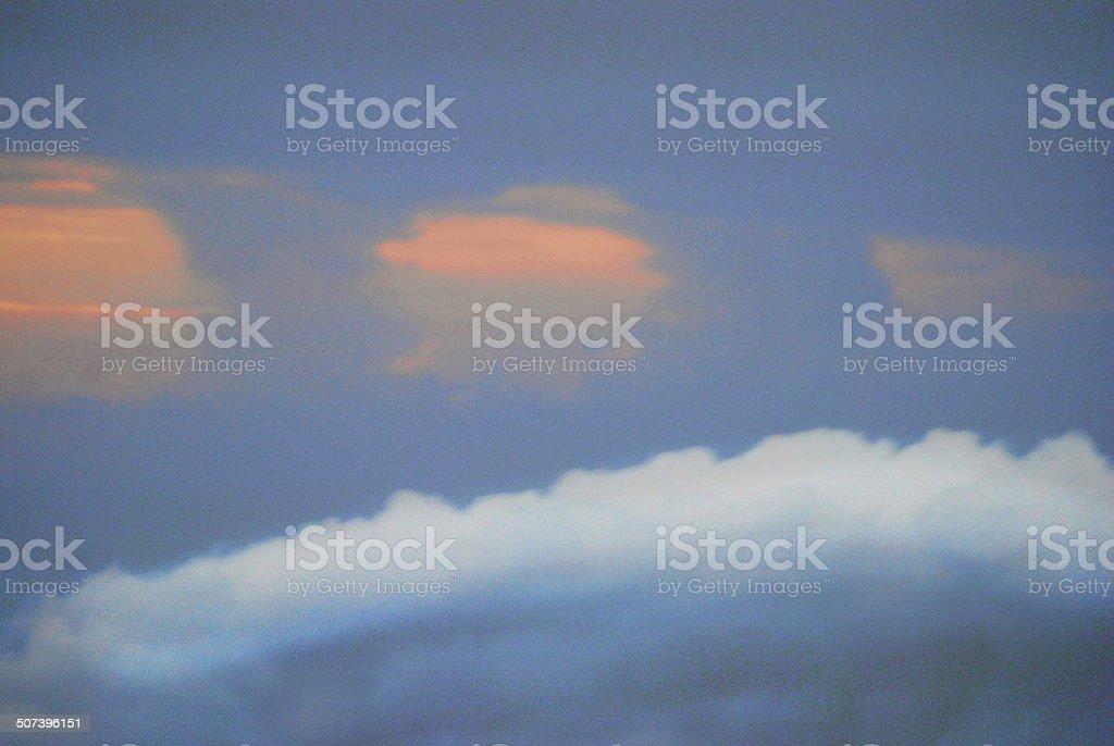 Tornado Clouds stock photo