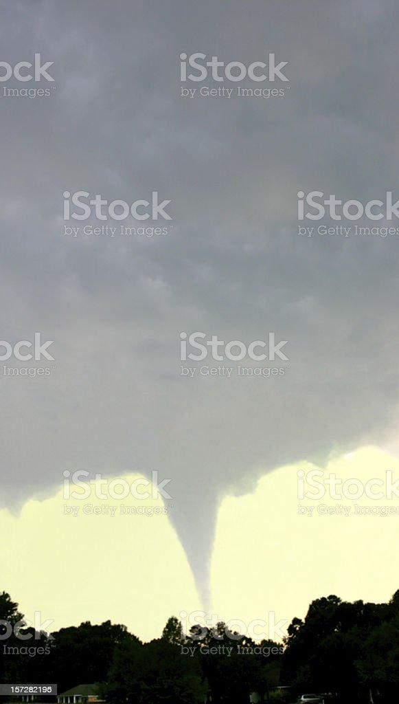 Tornado - Fujita 3 royalty-free stock photo