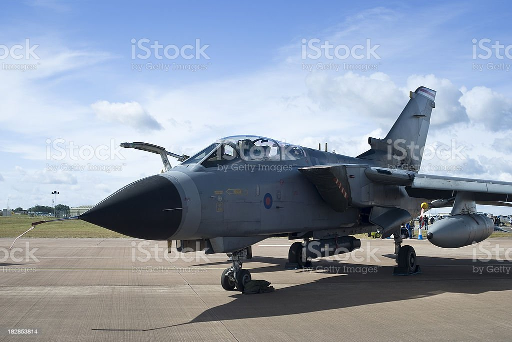 Tornado GR4 Fighter Bomber stock photo