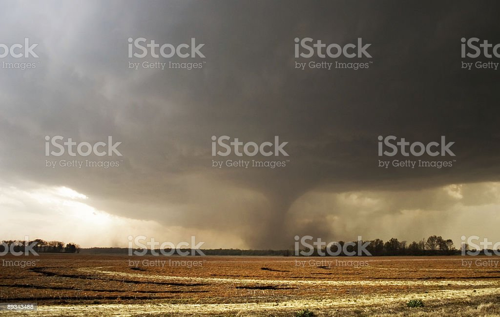 F3 tornado in Arkansas royalty-free stock photo