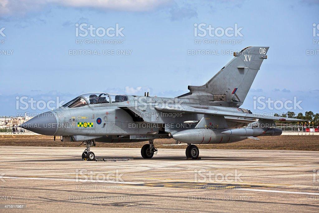 RAF Tornado royalty-free stock photo