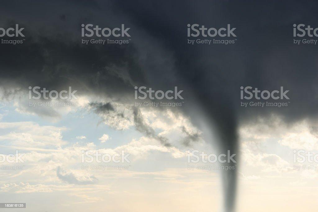 tornado twister storm royalty-free stock photo