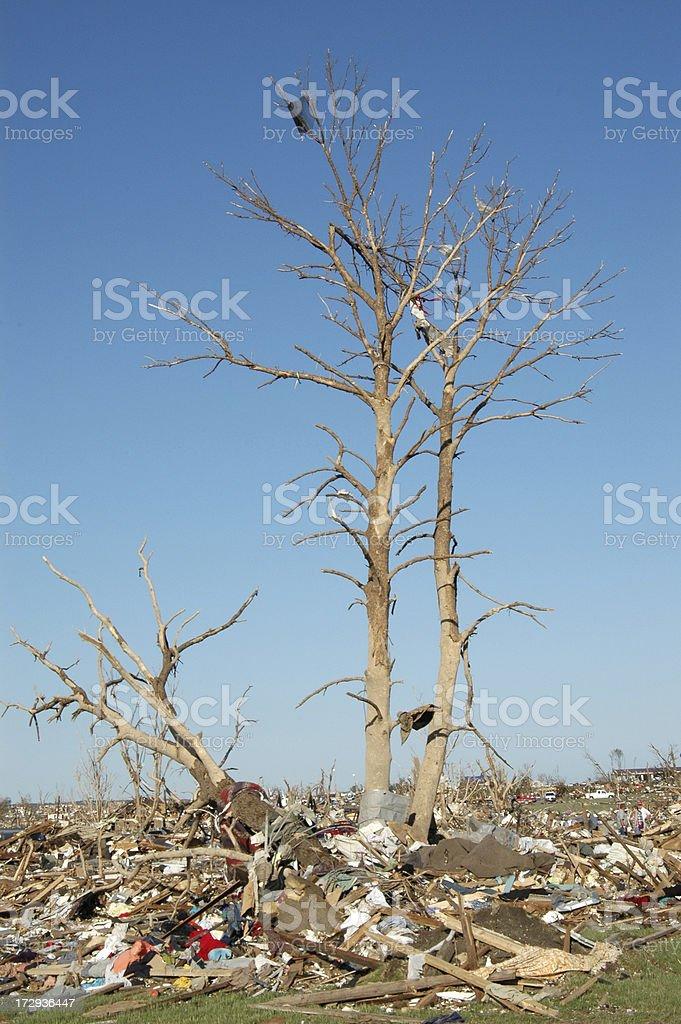Торнадо светлый вытертый Стоковые фото Стоковая фотография
