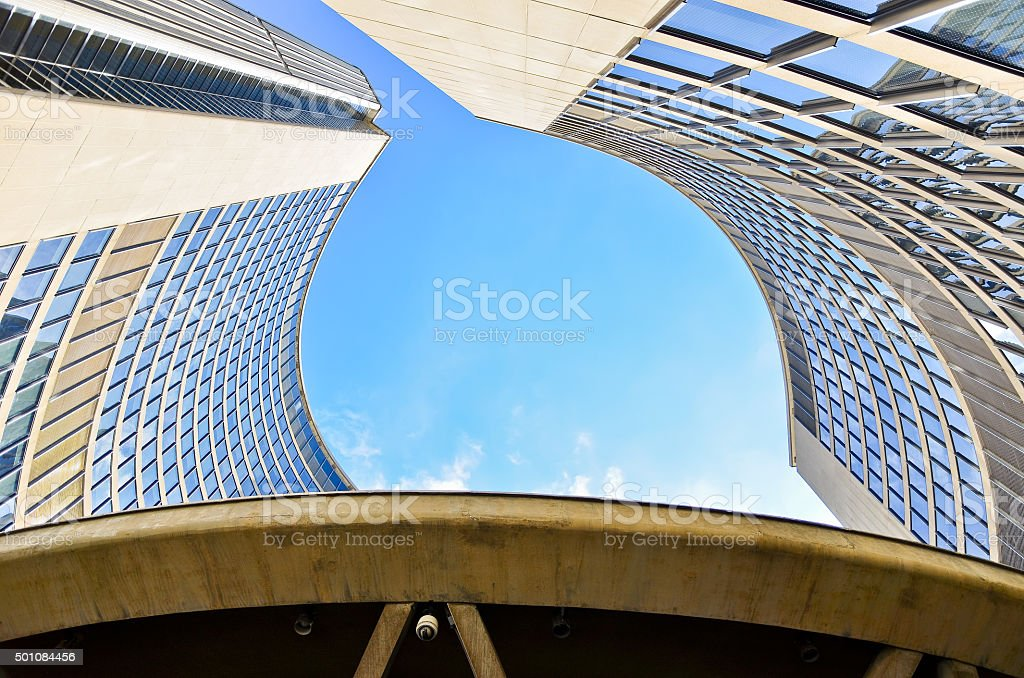 Toronto City Hall in a sunny day in Toronto, Canada. stock photo