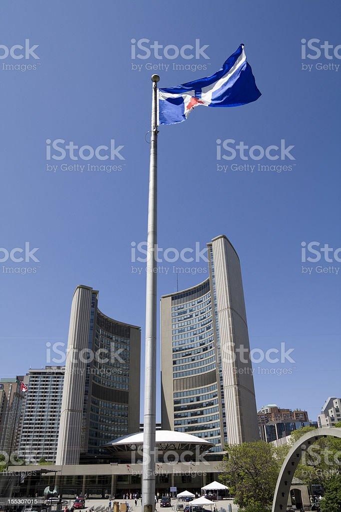 Toronto city hall royalty-free stock photo