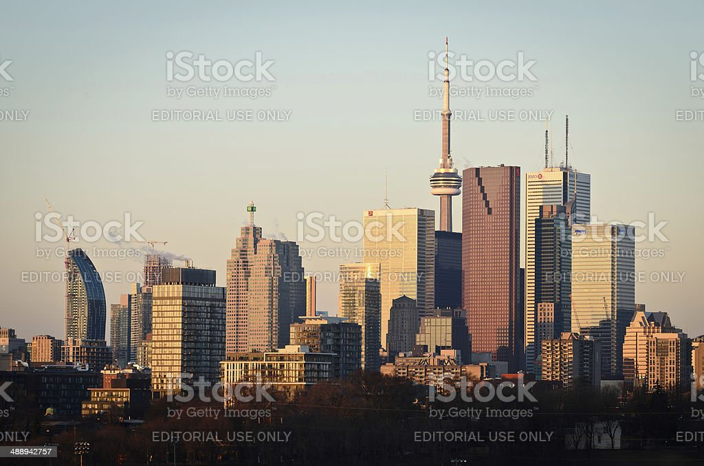 Toronto City Skyline royalty-free stock photo