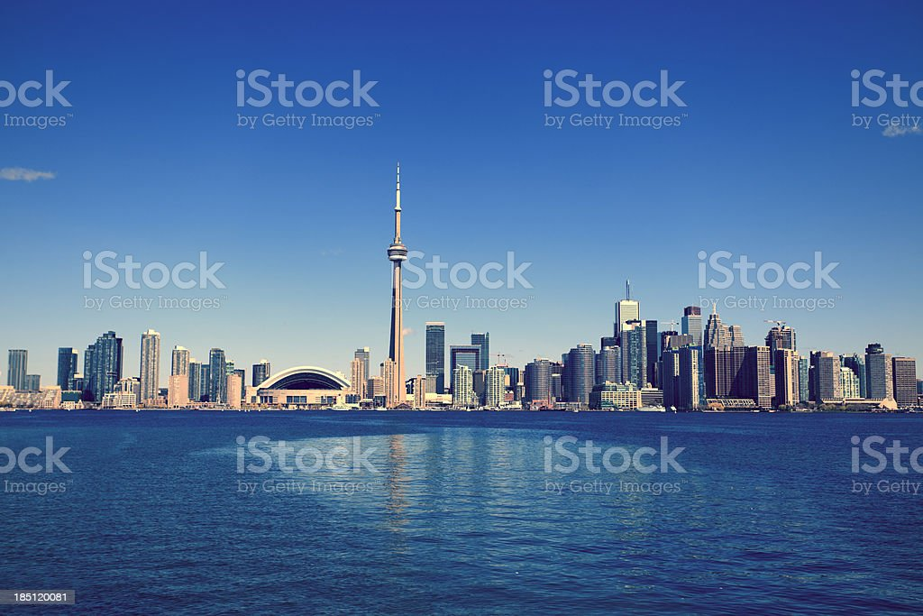 Toronto Cityscape stock photo