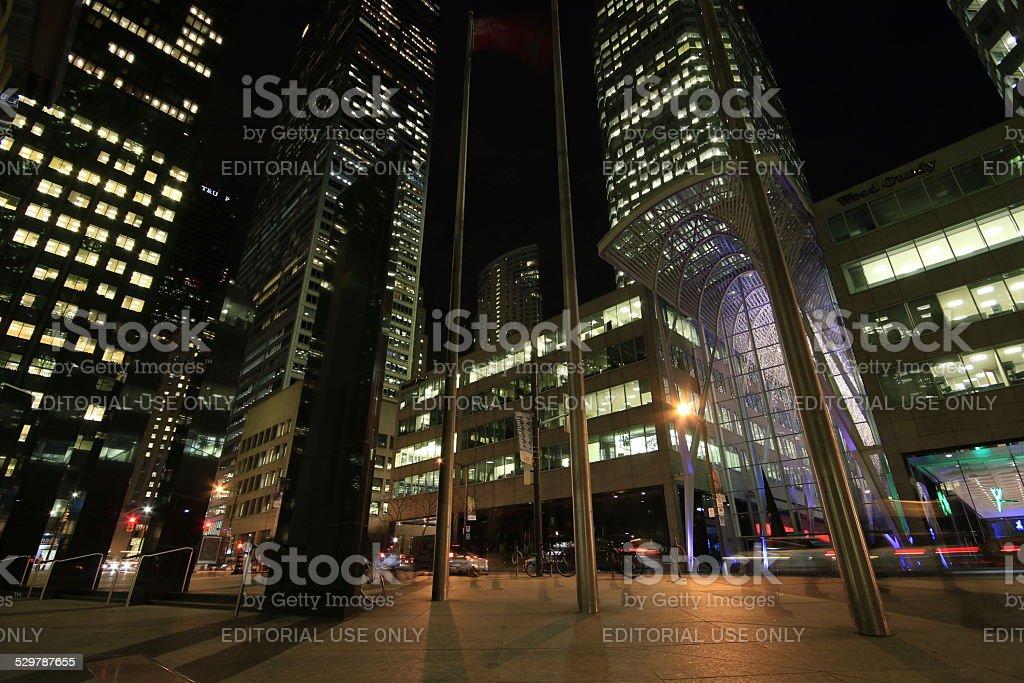 Toronto Corporate Towers stock photo