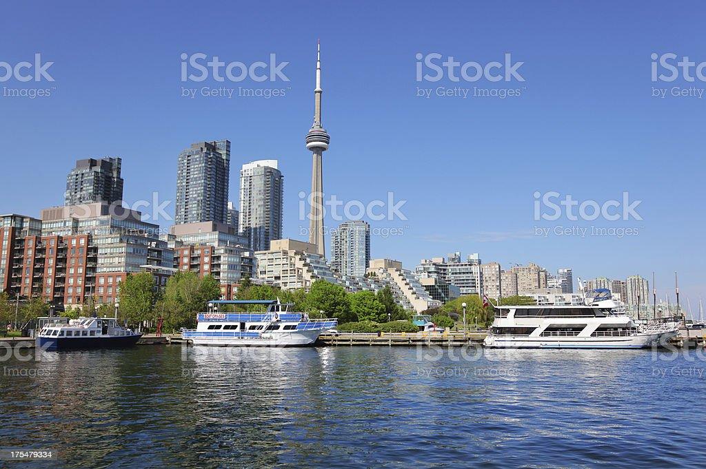 Toronto Cruise Boats royalty-free stock photo