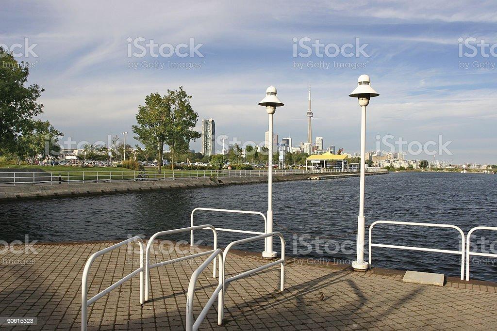 Toronto Dockside royalty-free stock photo
