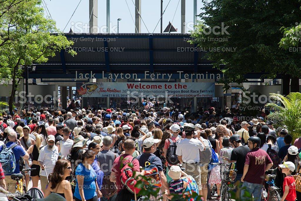Toronto Ferry Terminal stock photo