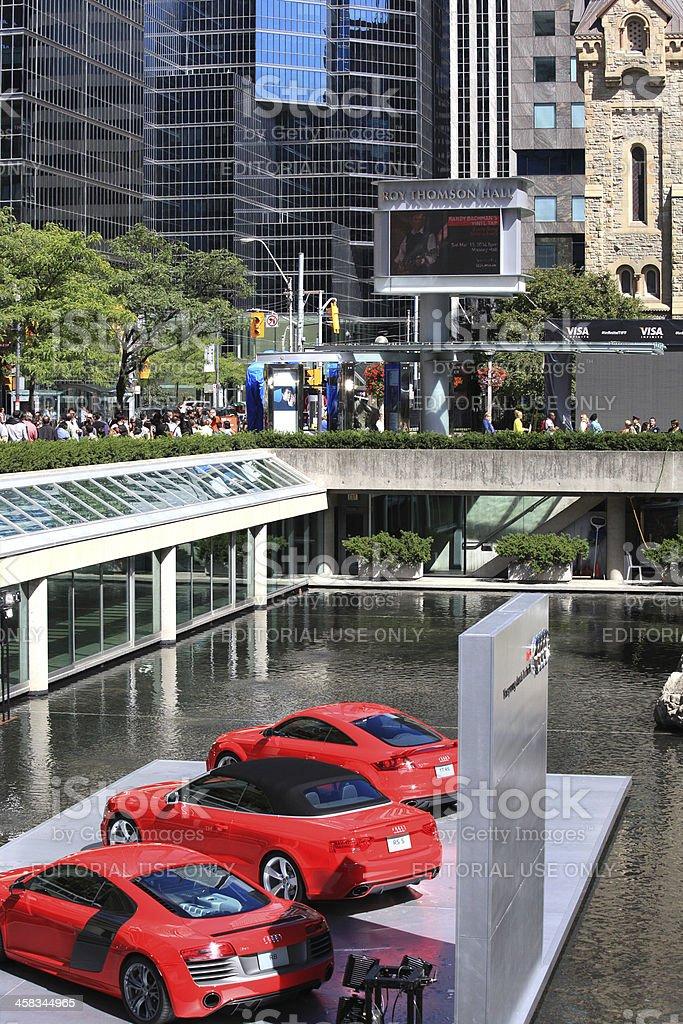 Toronto film festival stock photo