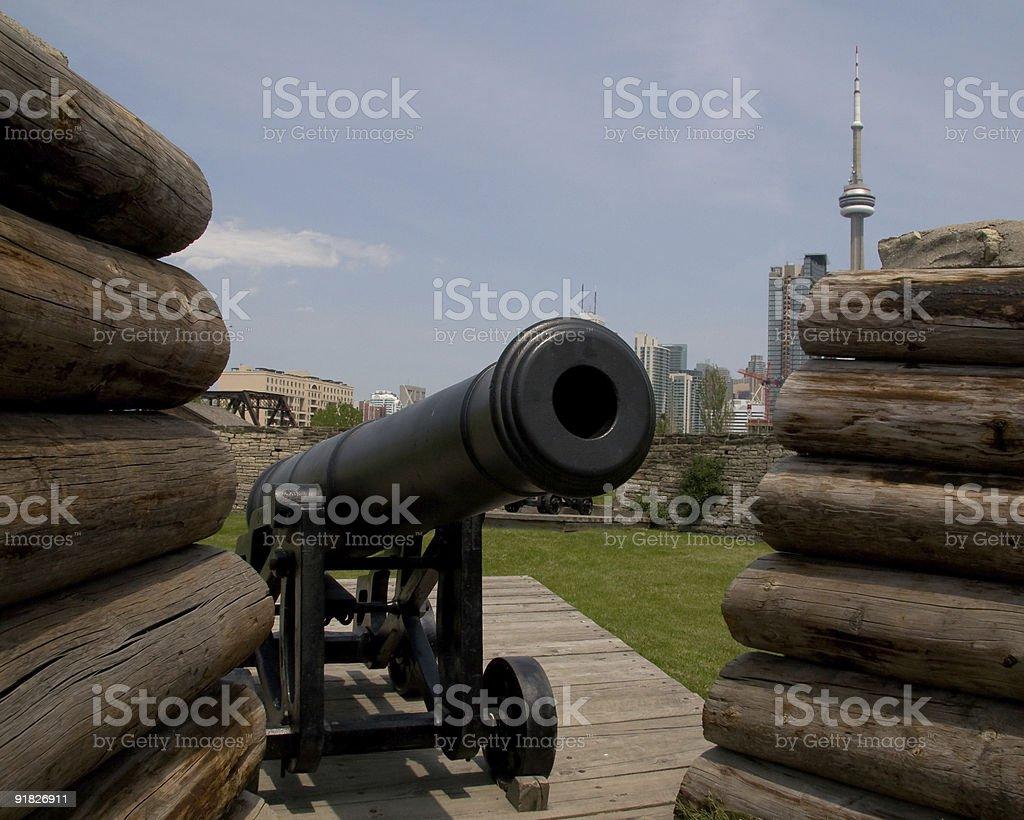 Toronto Fort York stock photo