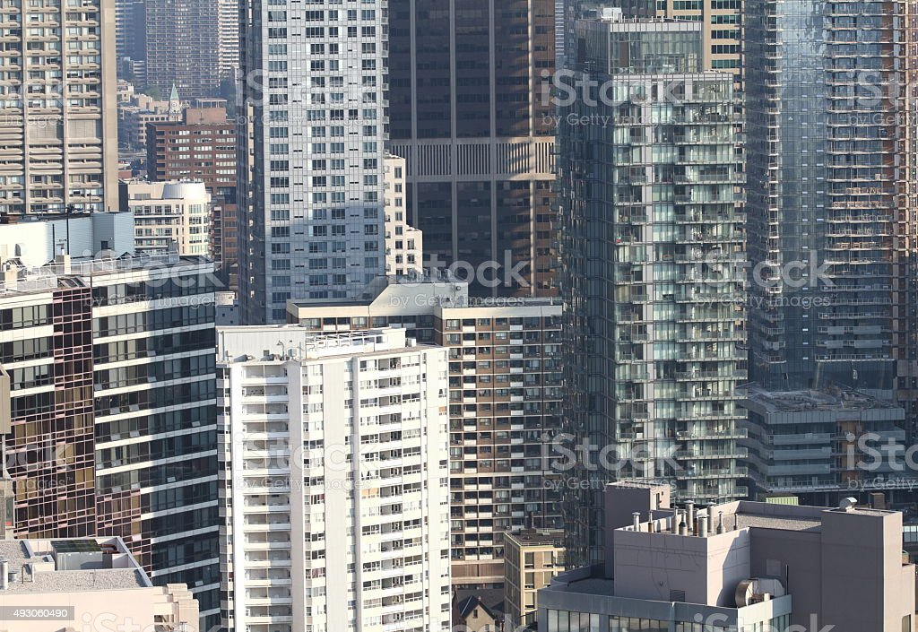 Toronto Highrises stock photo