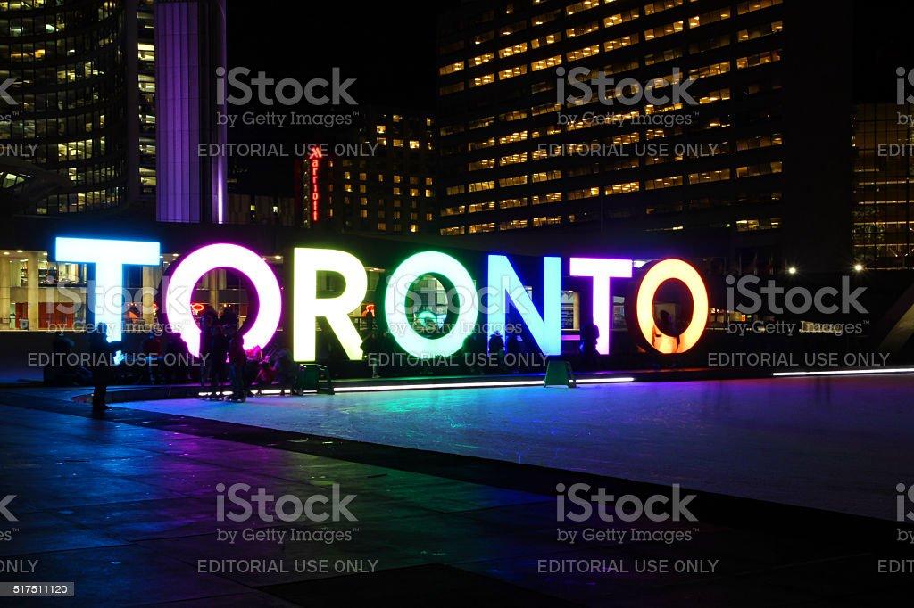 Toronto Ice stock photo