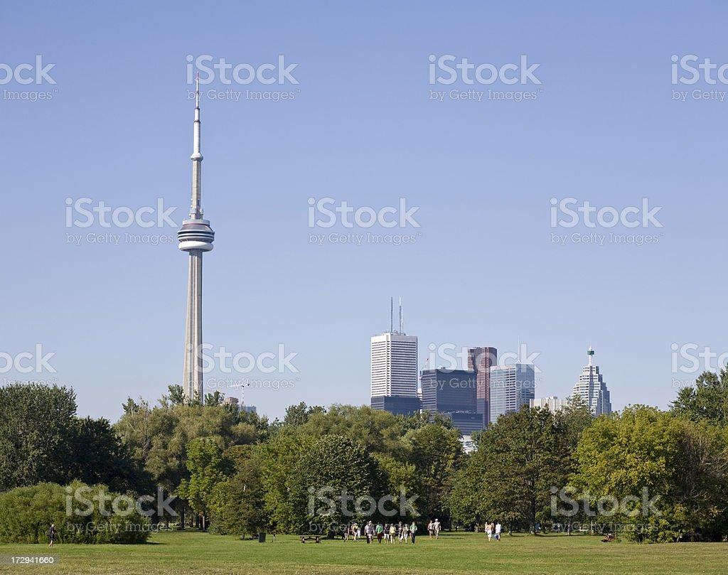 Toronto Islands, Canada royalty-free stock photo