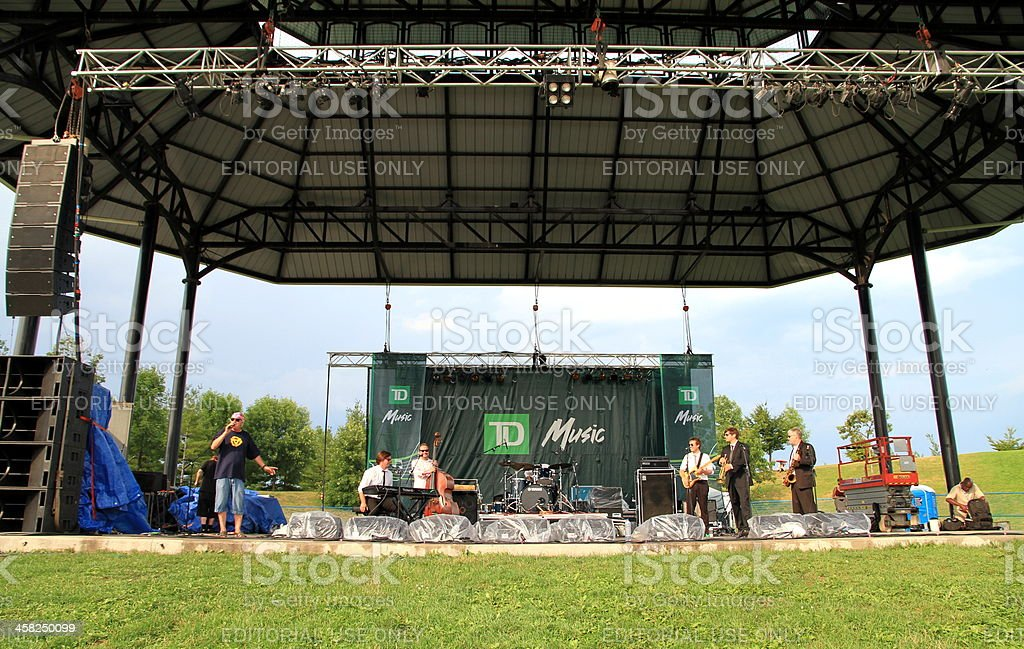 Toronto Jazz Festival royalty-free stock photo