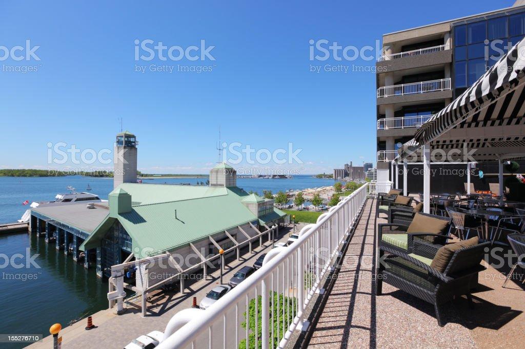 Toronto Lakeshore Terrace stock photo