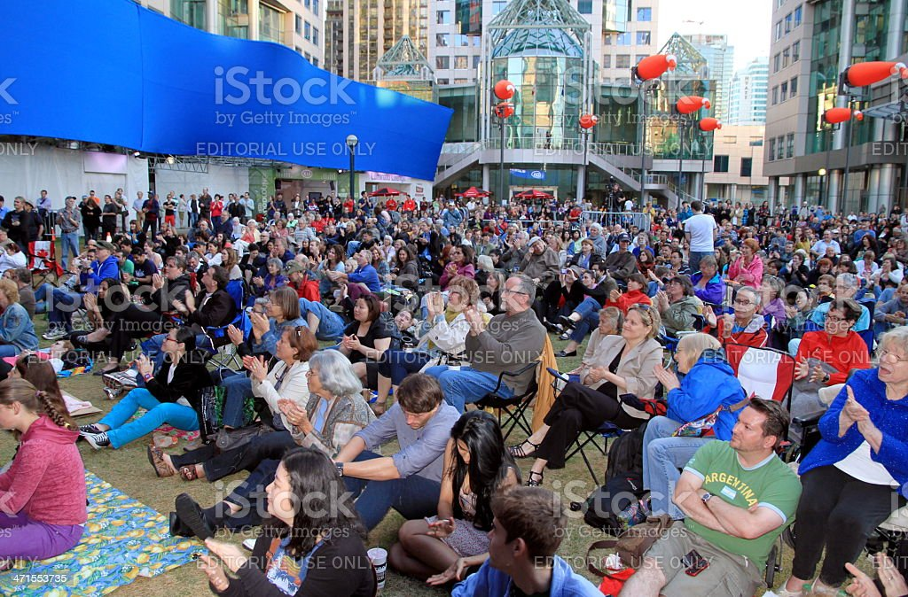 Toronto Luninato Festival royalty-free stock photo