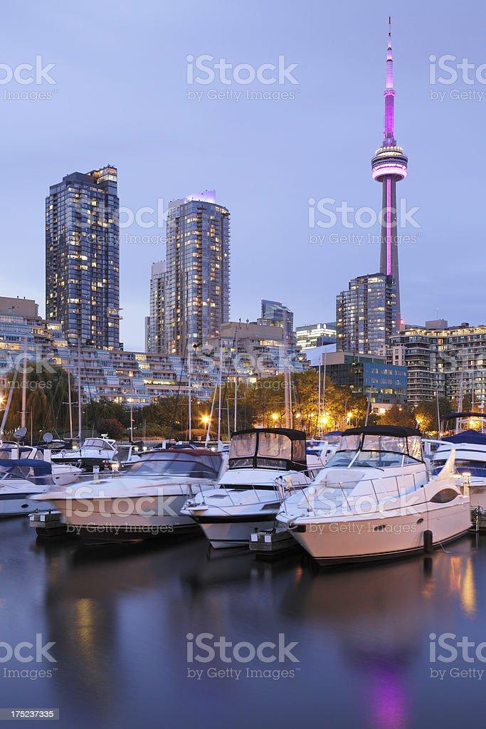 Toronto Marina stock photo
