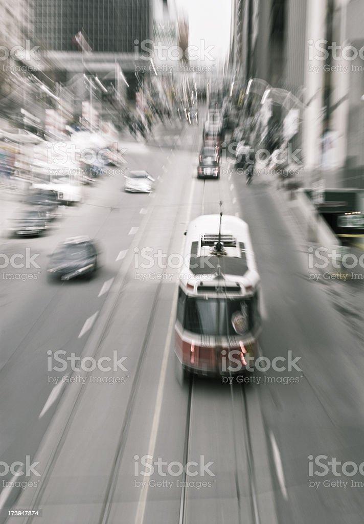 Toronto motion stock photo
