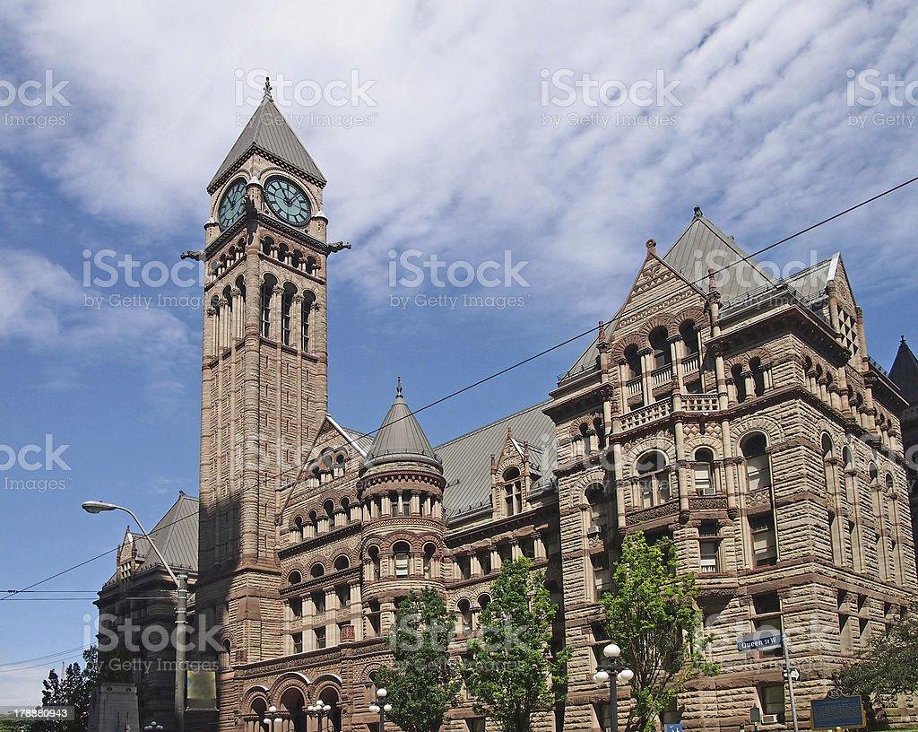 Toronto, Old City Hall royalty-free stock photo