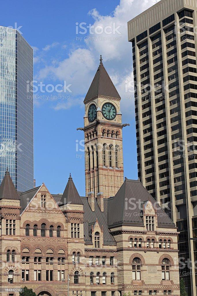 Toronto Old City Hall stock photo
