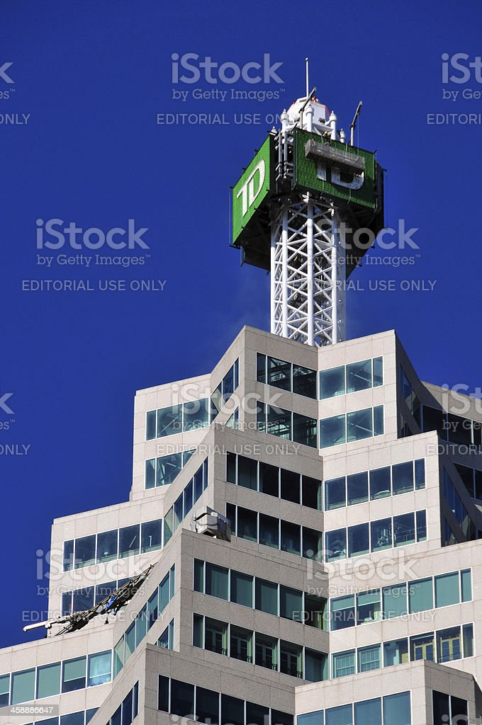Toronto, Ontario: Brookfield Place, TD Canada Trust Tower stock photo