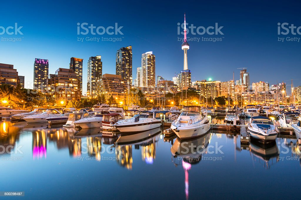 Toronto Ontario Canada stock photo
