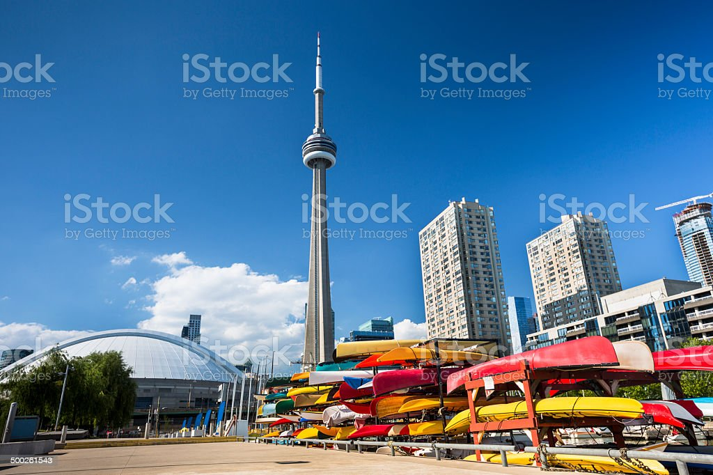 Toronto Ontario Canada stock photo