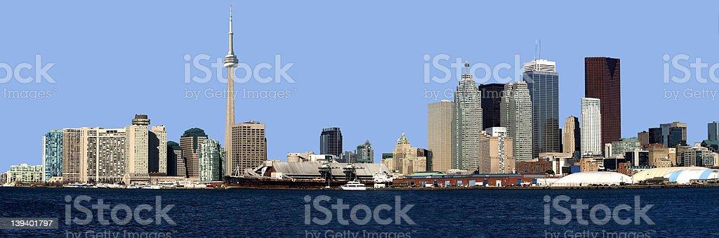 Toronto Panorama royalty-free stock photo