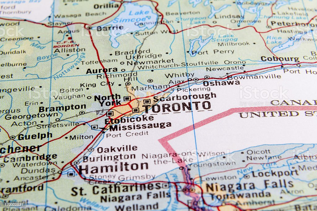 Toronto royalty-free stock photo