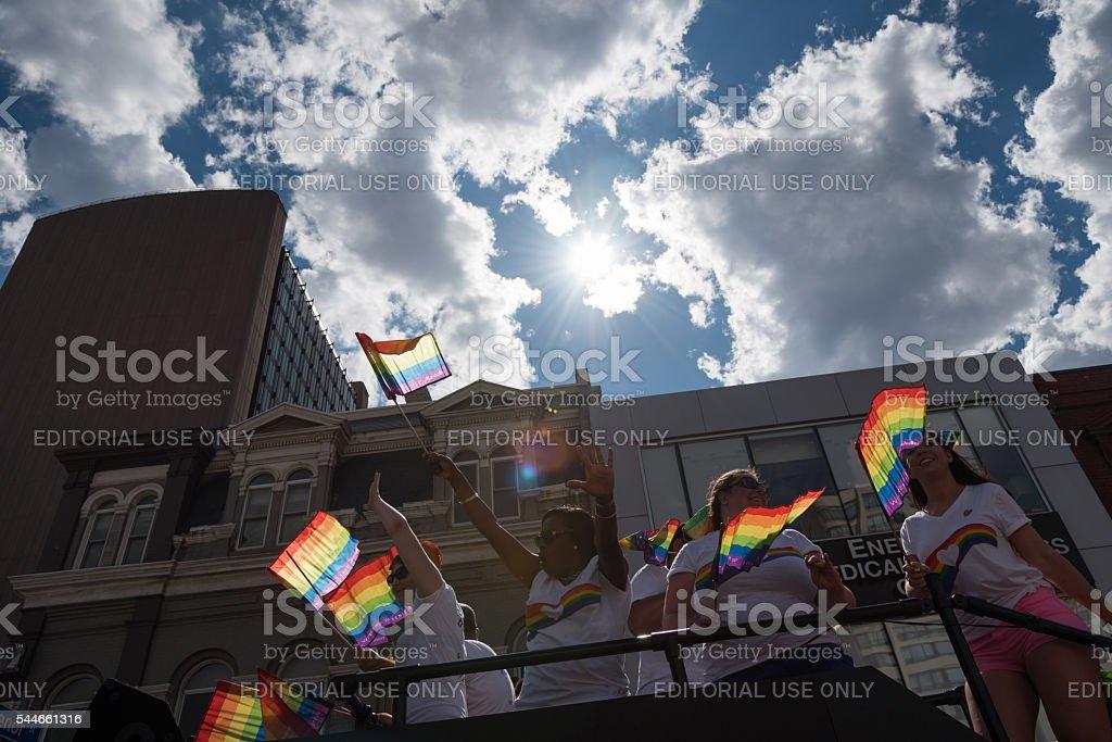 Toronto Pride Parade 2016 stock photo