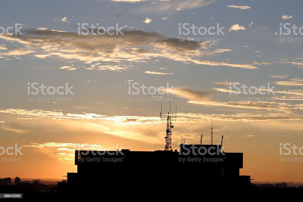 toronto skyline 05 royalty-free stock photo